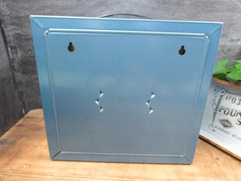 Metal Organizer Drawers Shop Storage Vintage Cabinet 10 Drawers Plastic Drawers