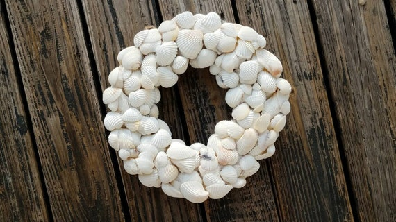 Wreath  -  Shell Wreath  -  Sea Shell Wreath