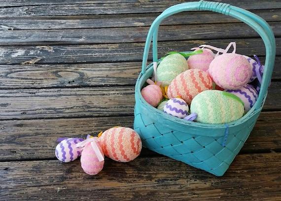 Clearance Easter Eggs, Easter Ornament, Easter Egg Ornament