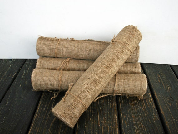 Table Runner, 16 Inch Wide by 120 Inch Long Burlap Table Runner