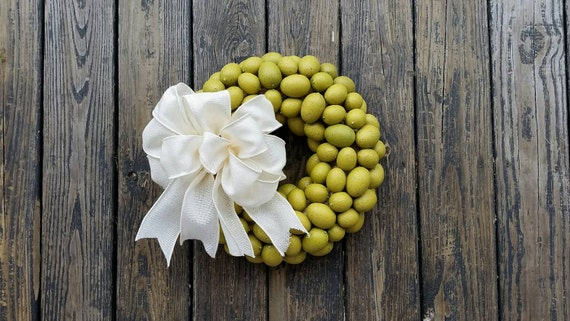 Easter Wreath, Rustic Wreath, Egg Wreath, Easter Egg Wreath, Spring Wreath