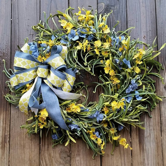 Spring Wreath, Summer Wreath, Easter Wreath, Extra Large Wreath