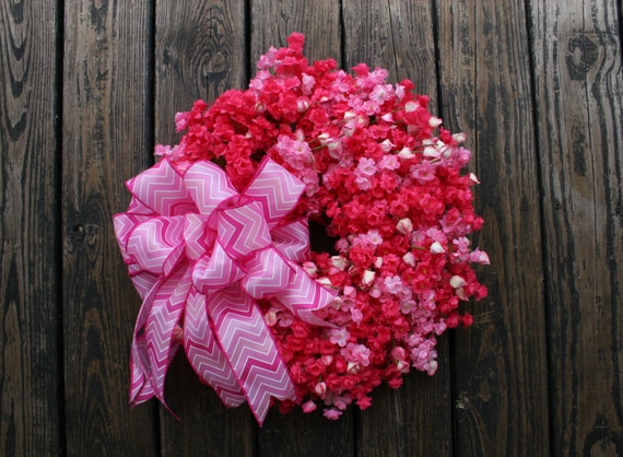 Spring Wreath, Summer Wreath, Pink Wreath