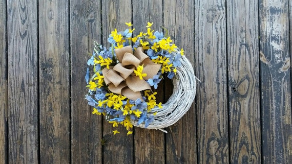 Spring Wreath, Summer Wreath, Easter Wreath