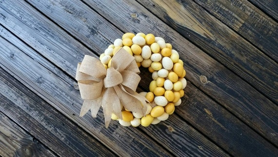 Easter Wreath, Rustic Wreath, Egg Wreath, Easter Egg Wreath