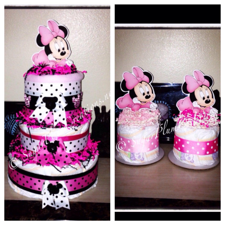 Baby Minnie Maus Diapercake Paket /Disney Windel Kuchen/Minnie | Etsy