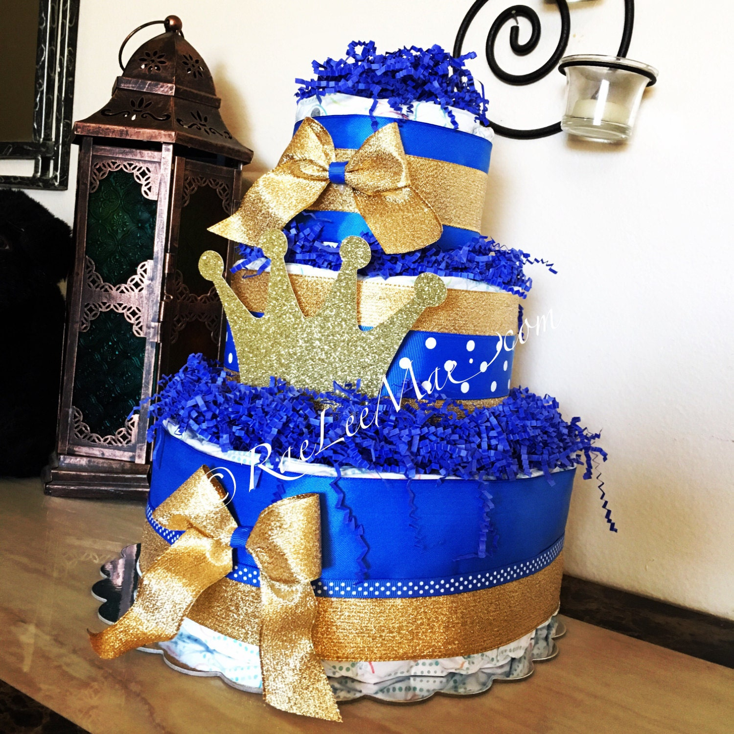 Little Prince Diaper Cake/Little Prince Baby Shower/little