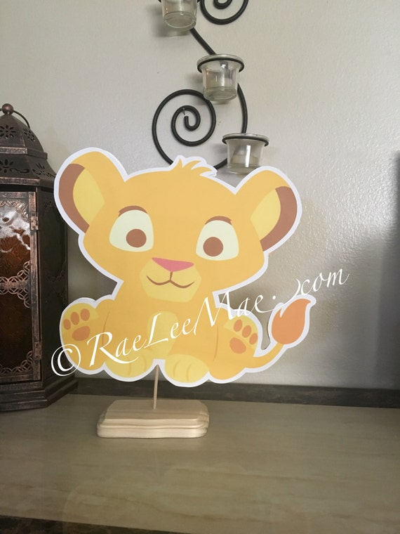 lion king cutoutsdiecuts lion king baby shower