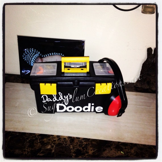 The Original Daddys Doodie Toolboxbaby Shower Gift Just Etsy