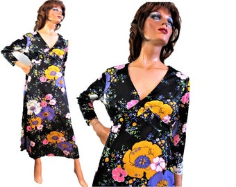 60s 70s Maxi Dress 5915eb087