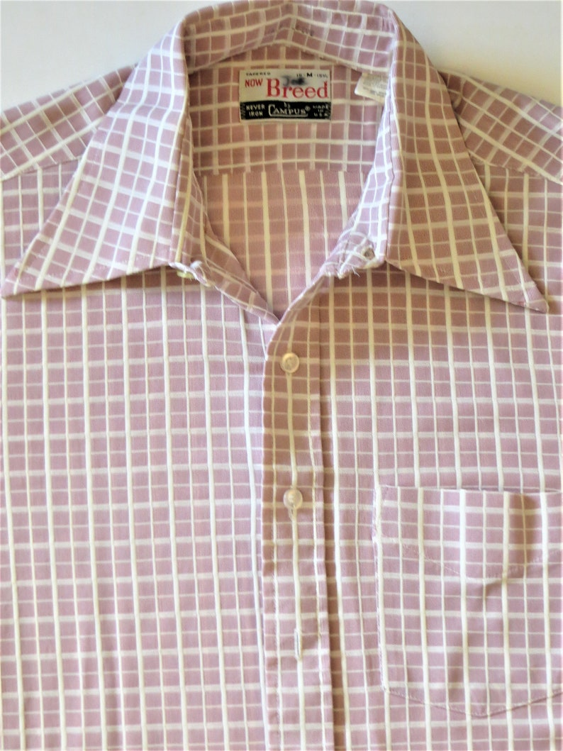 """MENS WHITE ROUND COLLAR Xl available MOD PIN SHIRT SIZES 15/""""-19/"""""""