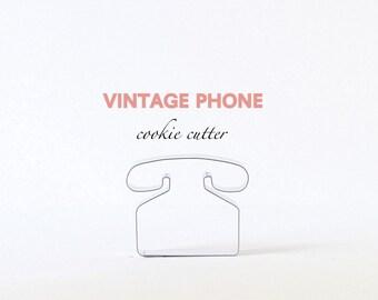 Telephone Cookie Cutter