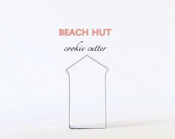 Beach Hut Cookie Cutter, Custom Cookie Cutters, Cookies, Summer, Ocean, Travel, Tropical Vacation, Pool, House, Building