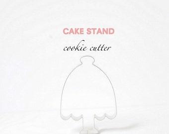 Cake Stand Cookie Cutter