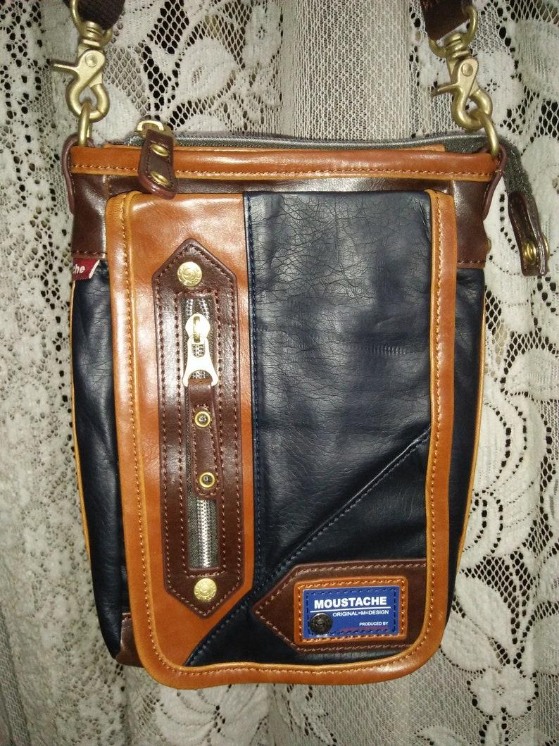 Vintage Authentic Moustache by Harvest Coporation Sling Bag