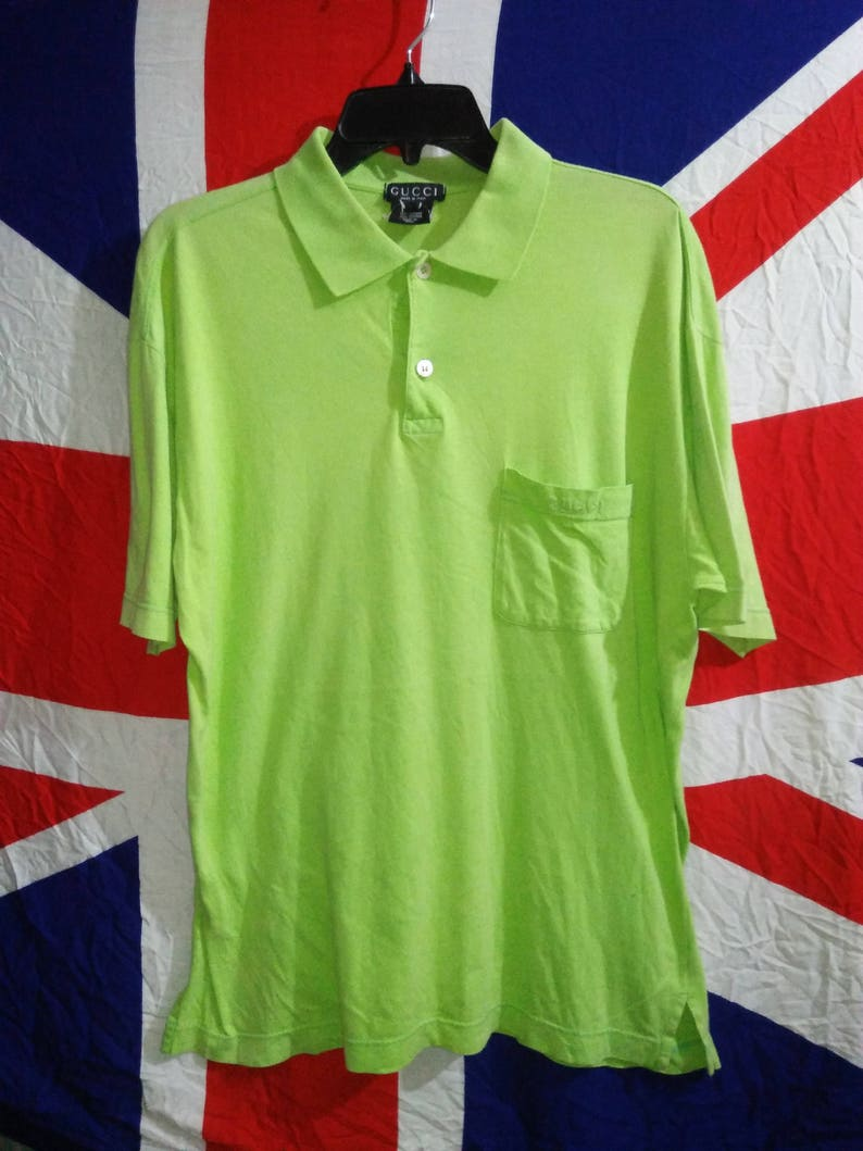 b3d2b5ff051 Authentic Vtg Gucci Casual Polo Shirt