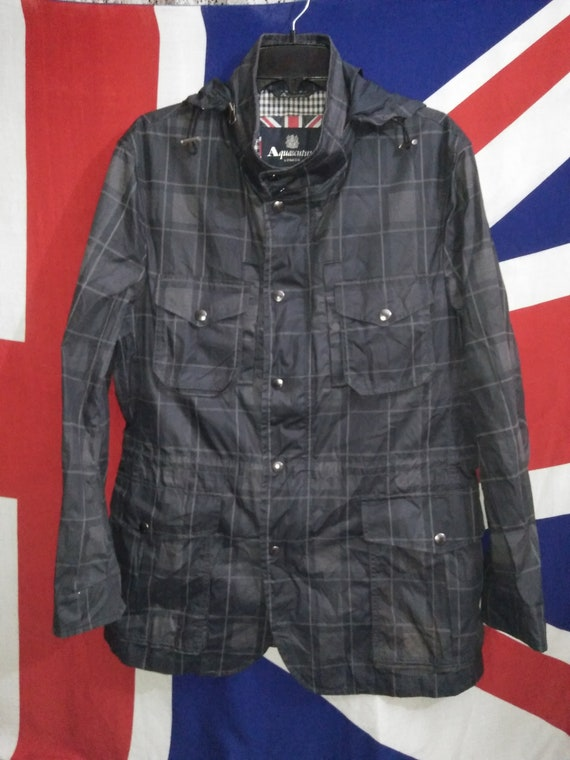 Of London Vintage wear Aquascutum Casual Windbreaker Jacket Terraces AqwHB4SH