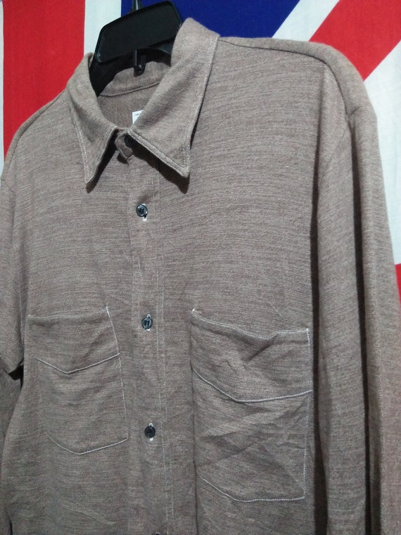 Overalls Original POST Shirt Chambray Vintage wF8TCxq1