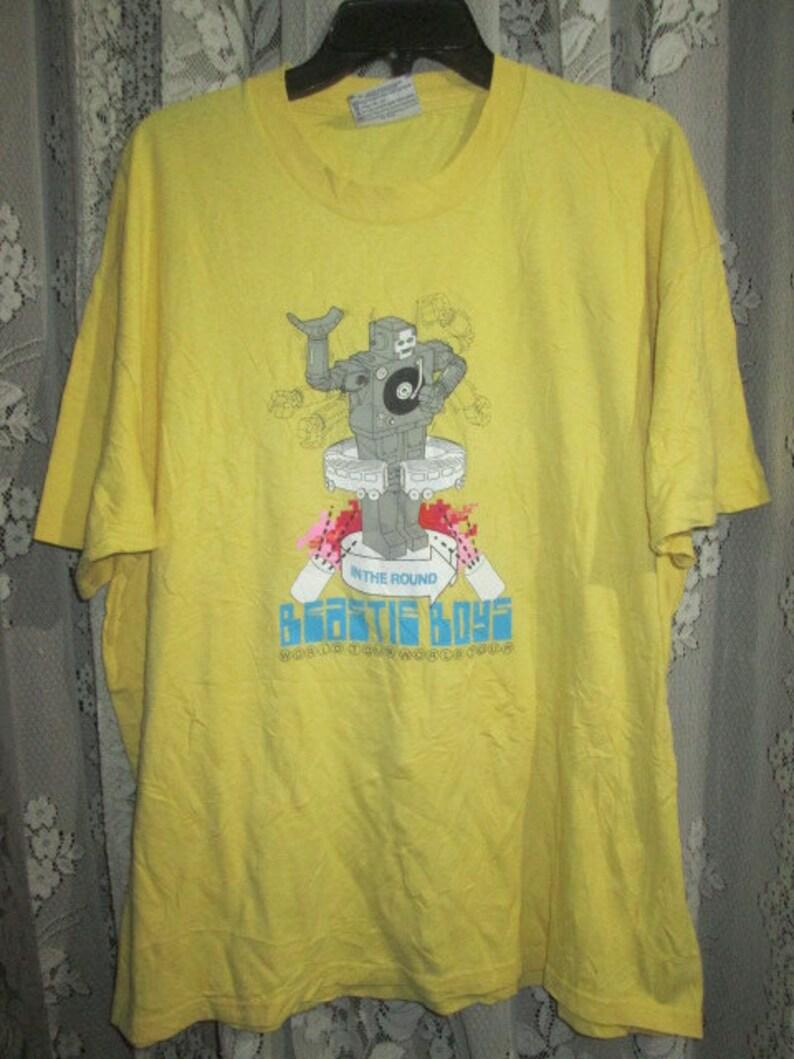 Vintage Beastie Boys Hello Nasty Tour Promo T Shirt Etsy