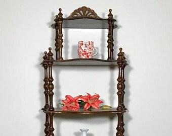 Antique Tiered Shelf