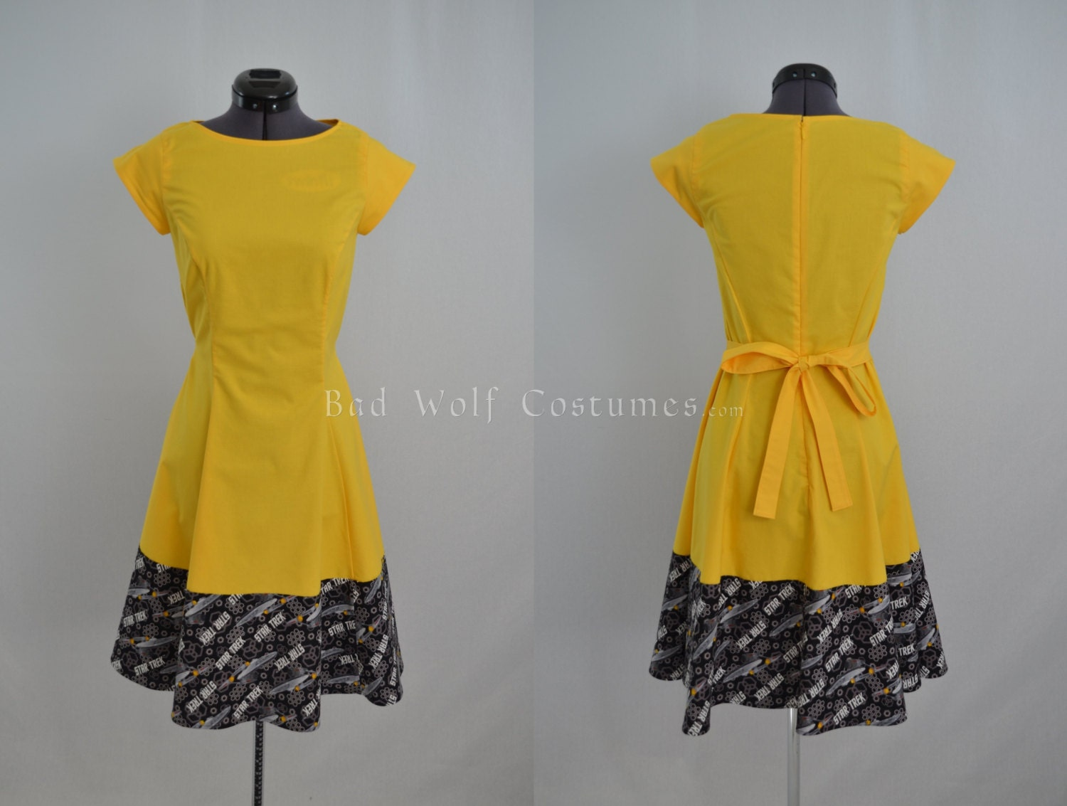 Yellow Star Dress