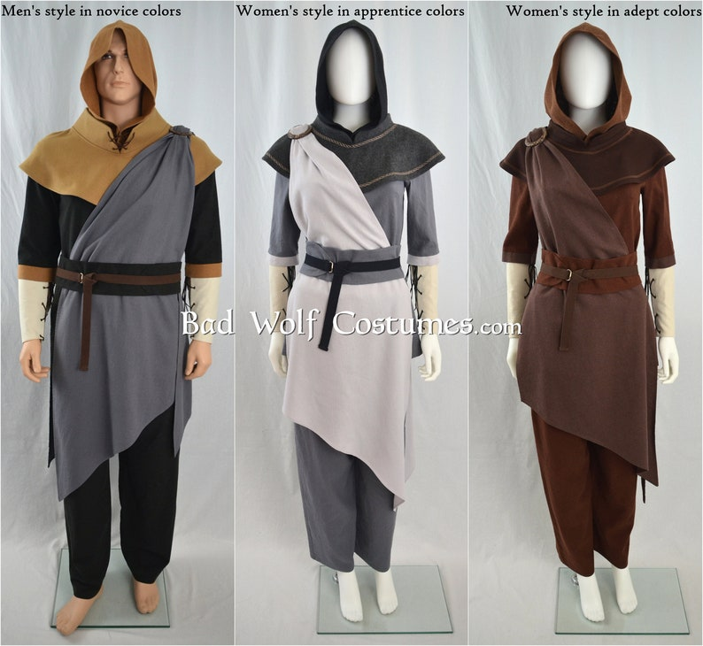 Skyrim Cosplay - Adept Mage Costume - Elder Scrolls, Skyrim, fantasy, mage  robe, LARP, medieval clothing - Unisex!