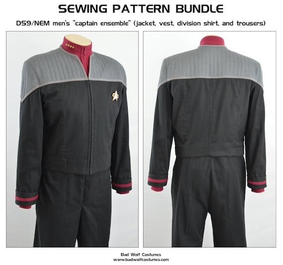 Star Trek TNG Uniform Pillow Cover | Etsy