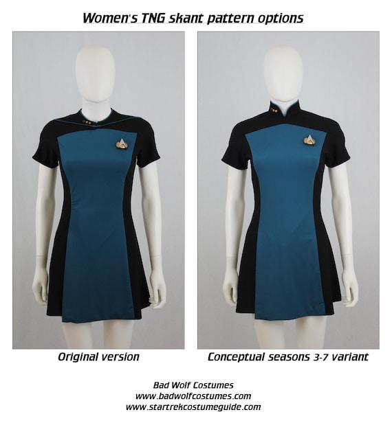 Star Trek Sewing Pattern TNG Skant The Next Generation | Etsy