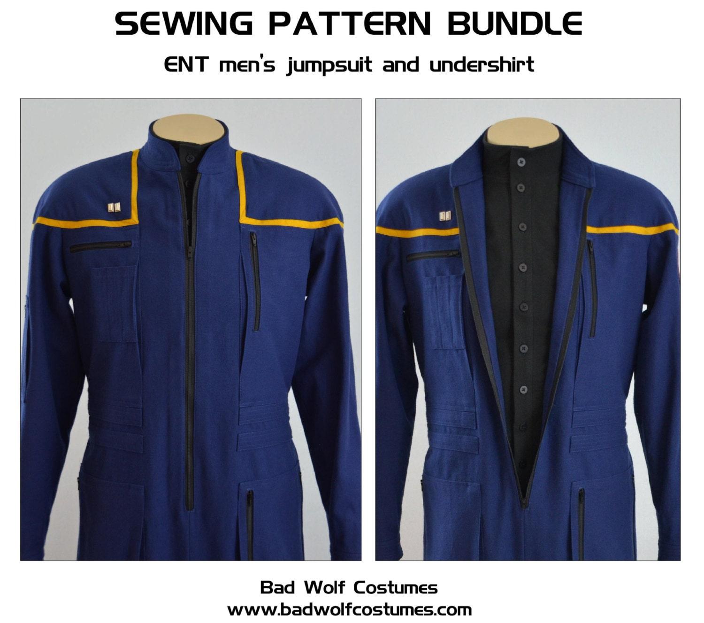 Star Trek Sewing Pattern Bundle - Starfleet uniform - Enterprise ...