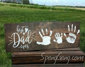 Father's Day Gift// Personalized Wood Pallet Sign// Gift for Grandpa Papa from kids// Keepsake personalized gift//O STICKERS or stencils!