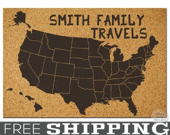 Us corkboard map etsy gumiabroncs