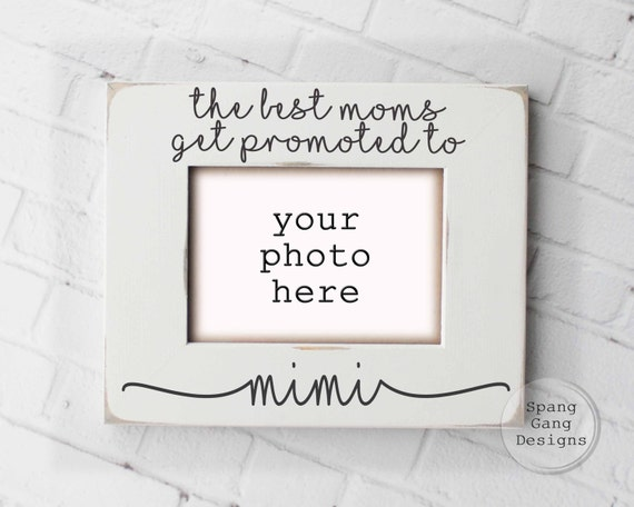 Personalized Mimi Gift Gift for Mimi Moms Get Promoted To | Etsy