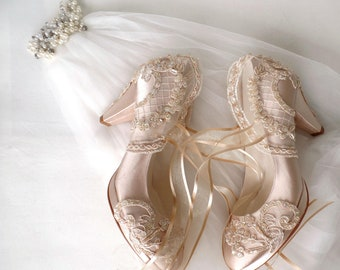bafd5546c695 Custom wedding shoes