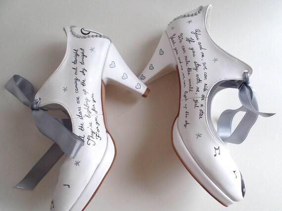mari mesure mariage la Chaussures sur pour de nzSxAq6Yw1