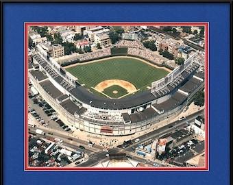 Chicago Cubs Memorabilia - Aerial of Wrigley Field