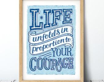 Life Unfolds Print