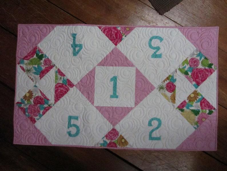 Birthday Celebration Table Runner Quilt Pattern  Digital image 0