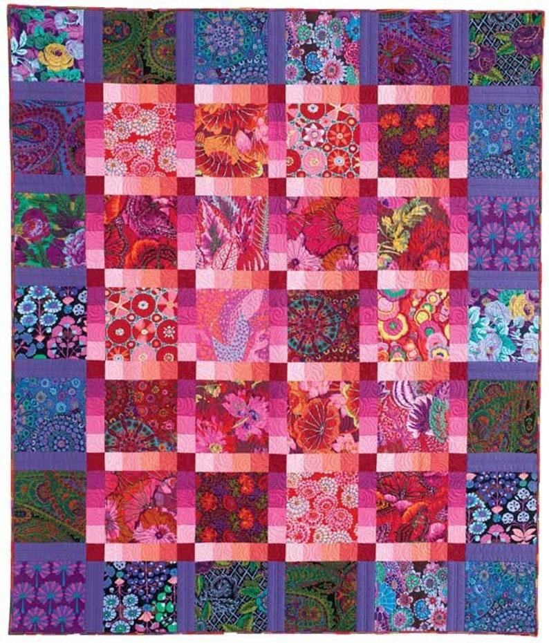 Garden Gradation Quilt Pattern Featured in McCall's image 0