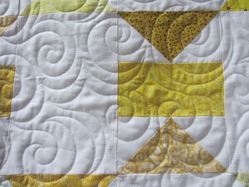 Citron Logic Quilt Pattern  Digital Download image 0