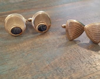 Vintage Cuff Links 2 Pair