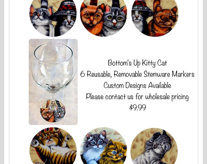 Crazy Cat lover gift best cat gift cat lady cat portrait cat gift ideas wine lover gift gift for him pet sitter gift thank you gift custom