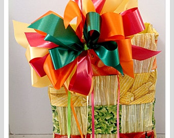 Vegetable gift tote bag Gardener gift for him gift for her boyfriend gift girlfriend gift vegetable garden party birthday thank you gift