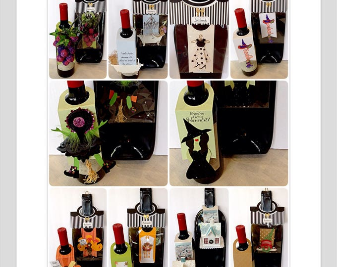 Wine bottle tags wine gift tag water bottle tag gift beer bottle tag  thank you card bridesmaid gift funny gift card birthday card sympathy
