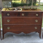 Vintage Dresser -- Changing Table -- Choose Your Paint Color or Shabby Chic It!