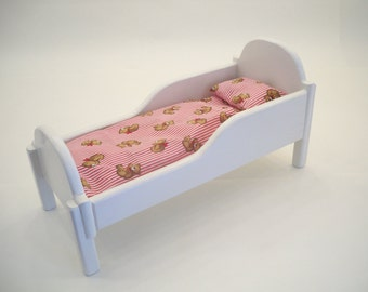 Wooden Doll Cradle Etsy