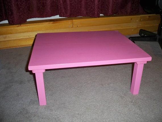 Kids table basse table de bureau pour enfants table de jeu pour