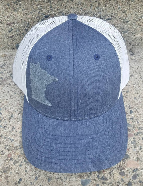 Minnesota Hat | Trucker Hat | Minnesota Trucker Hat | Men's Baseball Hat | Unisex Hat |