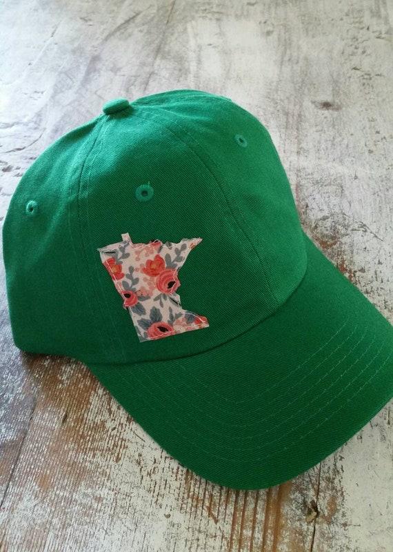 Kids Minnesota Hat| Kids Hat | Minnesota Floral Baseball Hat | Minnesota Cap | Baseball Hat | MN Hat | MN Baseball | Rifle Paper Co. |