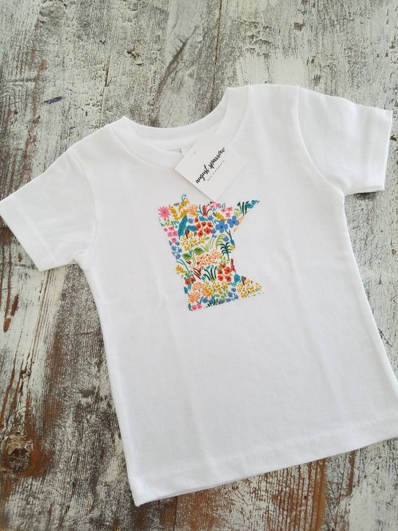 Minnesota Tshirt | Youth Tshirt | Minnesota Baby | Made in Minnesota | Minnesota Love | Toddler Shirt | Child Shirt |