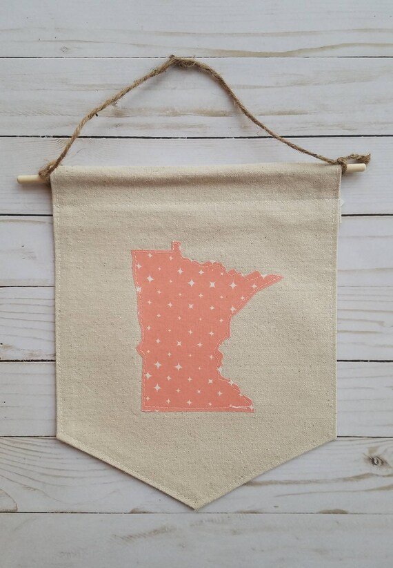 SALE | CLEARANCE | Minnesota Banner | Minnesota Wall Hanging | Minnesota Decor | Sale